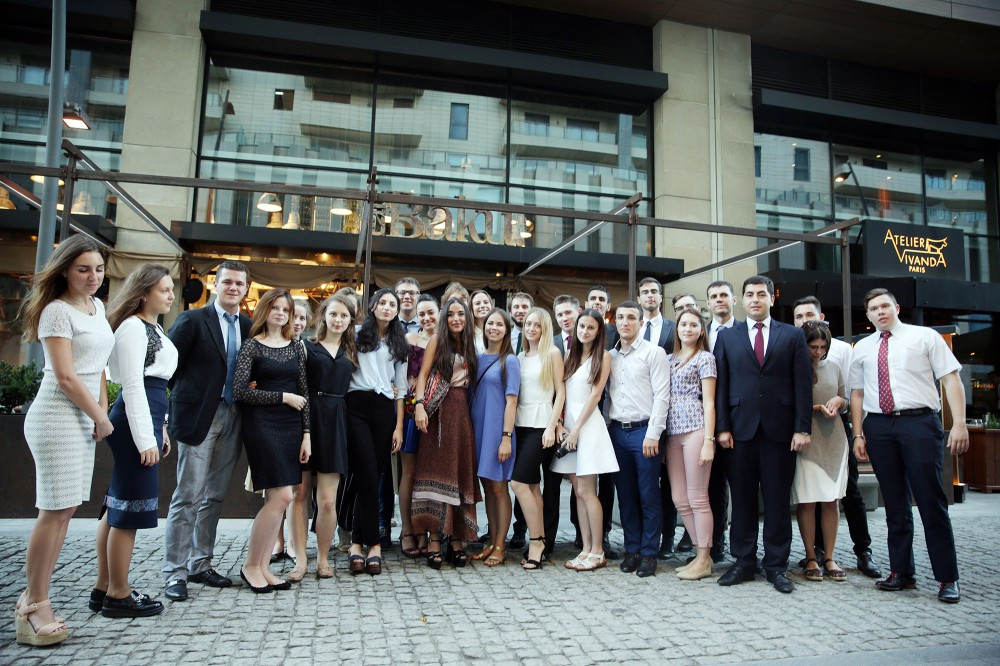 Vice President of Heydar Aliyev Foundation meets Russian students
