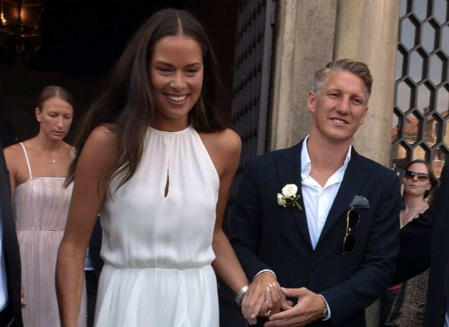 Schweinsteiger and Ivanovic get married in stunning Venice ceremony