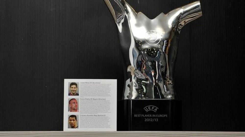 UEFA Best Player in Europe Award shortlist revealed