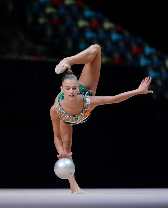 Azerbaijani gymnast wins bronze in FIG World Cup [UPDATED ]
