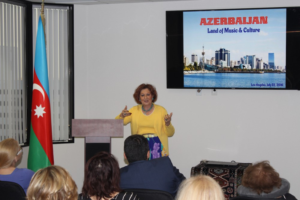 Event on Azerbaijani classic music held in Los Angeles