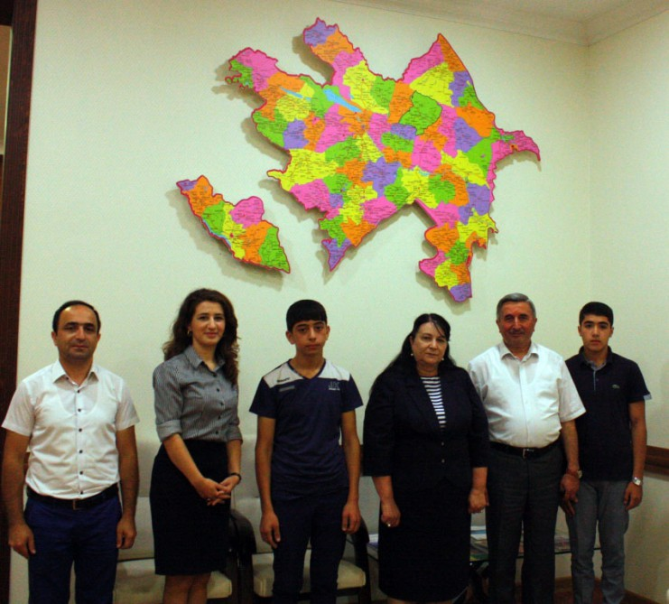 Ismayilli students attend Ito summer festival