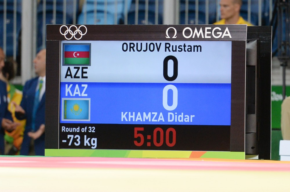 Orujov claims silver to win Azerbaijan's first Olympic medal [UPDATED ] VIDEO