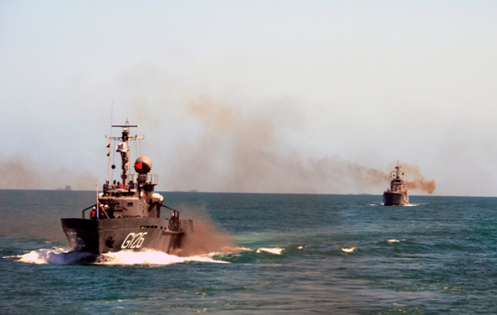 Exercise of Naval Forces ends