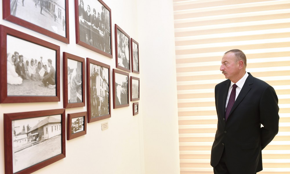 President Ilham Aliyev inaugurated Museum of History and Local Lore in Salyan VIDEO