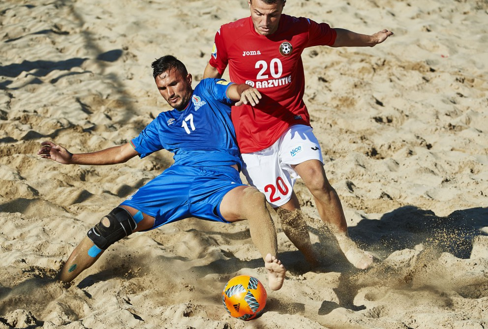 Azerbaijani beach soccer team qualify for second group phase of World Cup Qualifier