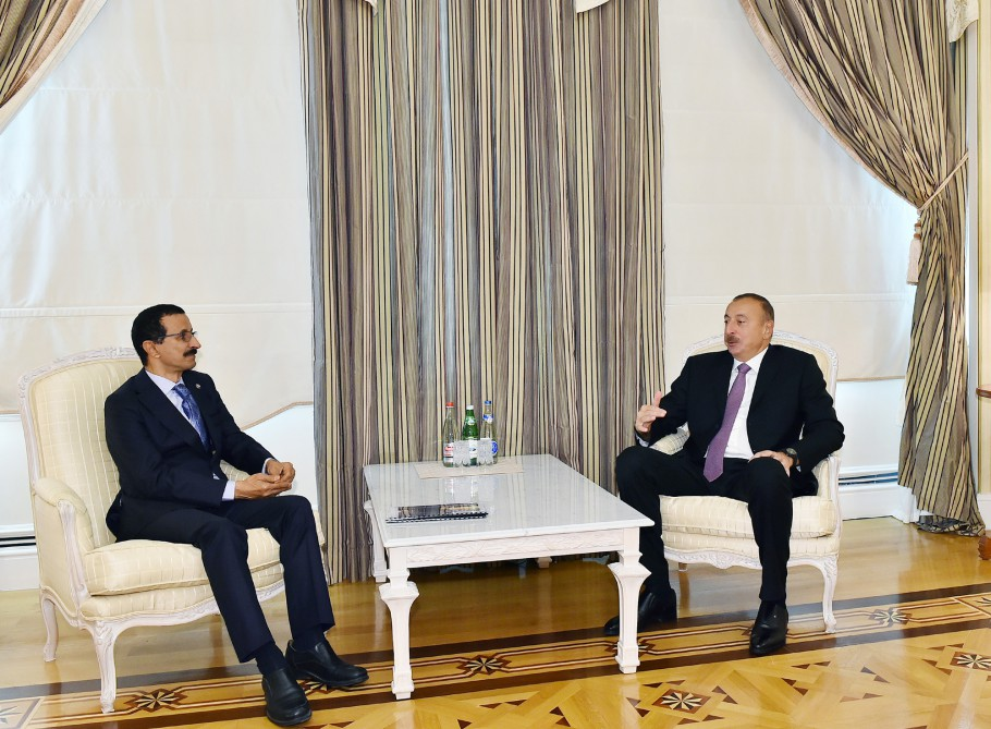 President Ilham Aliyev received Group Chairman of DP World VIDEO