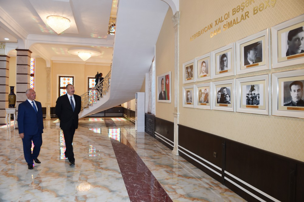 President Ilham Aliyev attended opening of new building of Heydar Aliyev Center in Khachmaz VIDEO