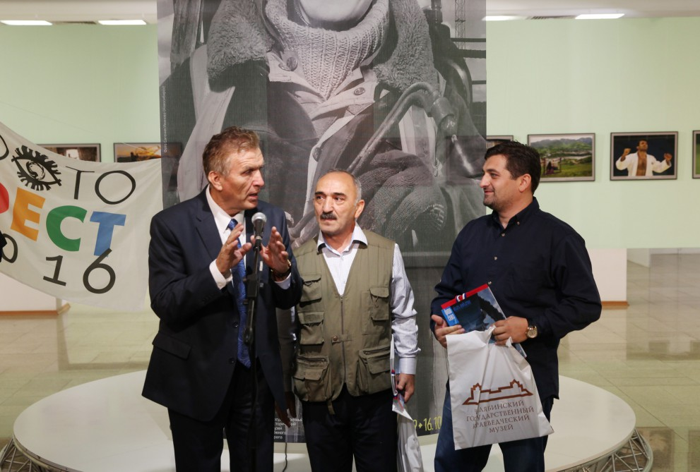 Azerbaijani photographers' works on display at international festival in Russia