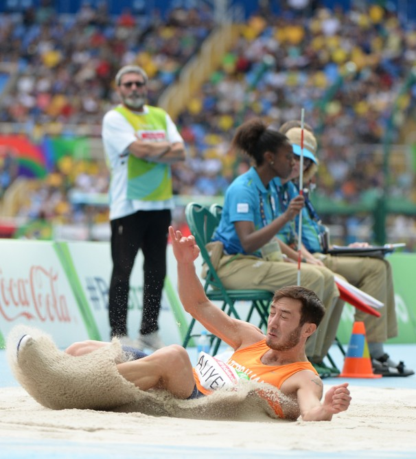 Azerbaijani Paralympic long jumper wins silver in Rio
