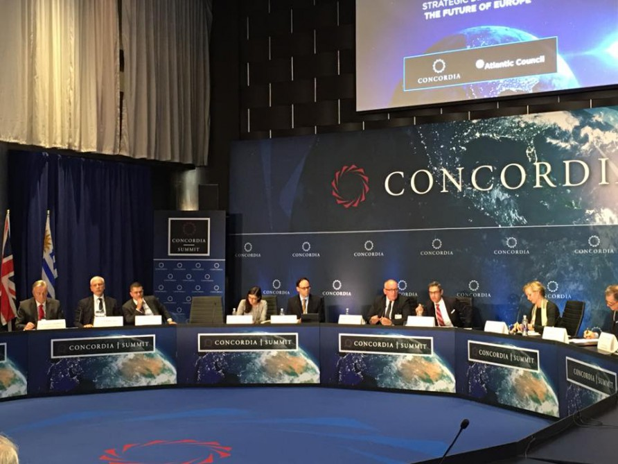 Leadership of Nizami Ganjavi International Center attends Concordia Summit in New York