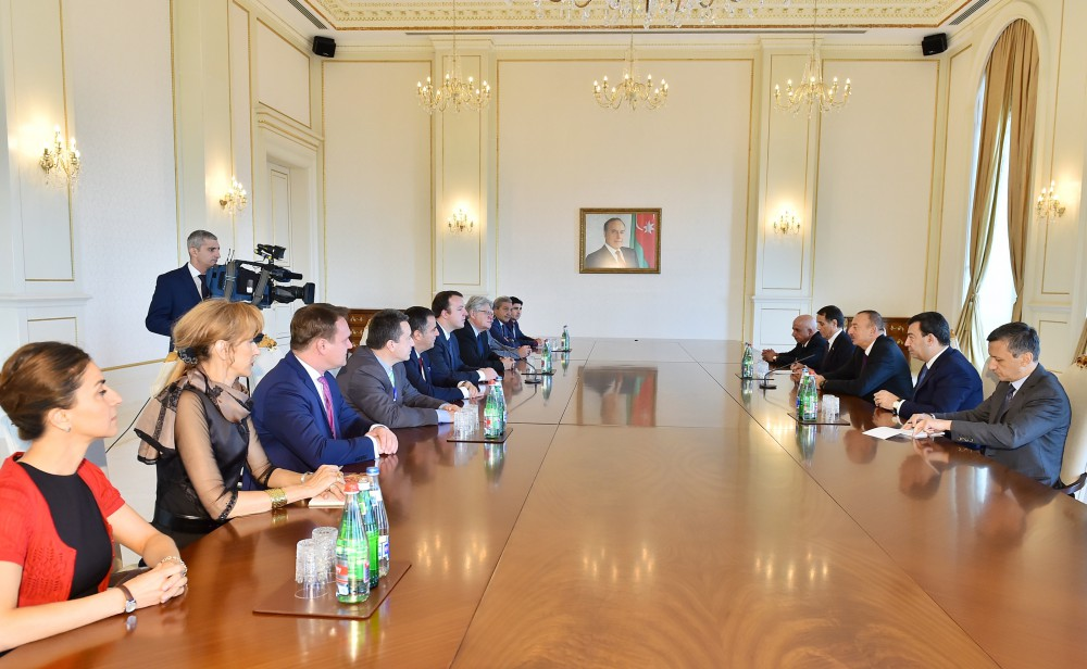 President Ilham Aliyev received PACE Referendum Assessment Mission VIDEO