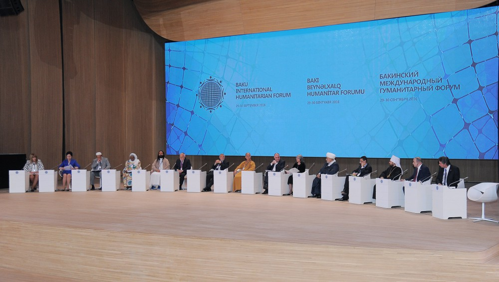 Fifth Baku International Humanitarian Forum continues with plenary session