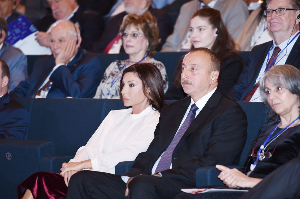 Fifth Baku International Humanitarian Forum kicks offPresident Ilham Aliyev attended official opening ceremony VIDEO
