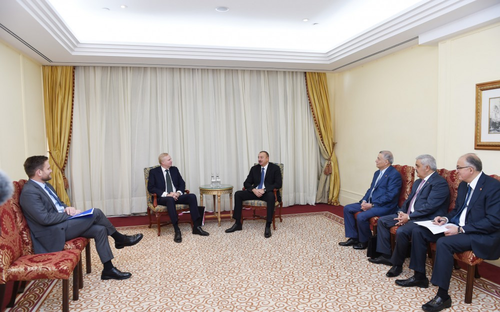 President Ilham Aliyev met with BP Chief Executive Officer in Istanbul VIDEO