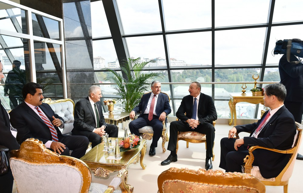 23rd World Energy Congress starts in Istanbul  President Ilham Aliyev attends the Congress VIDEO