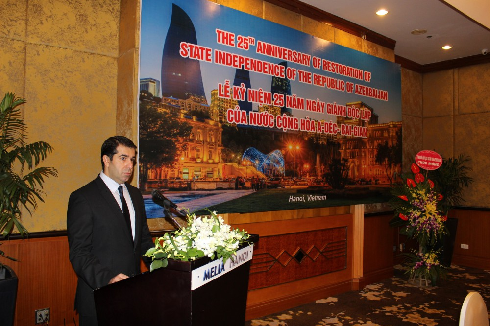Dang The Vinh: In the past 25 years we witnessed how the international authority of Azerbaijan strengthened