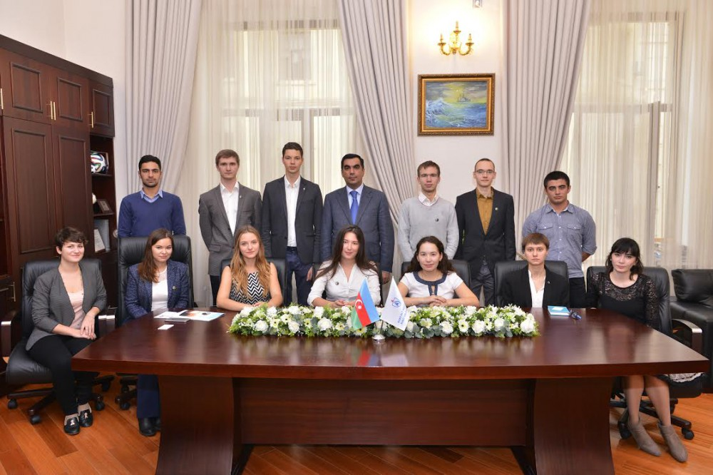 Gubkin University students visit BHOS