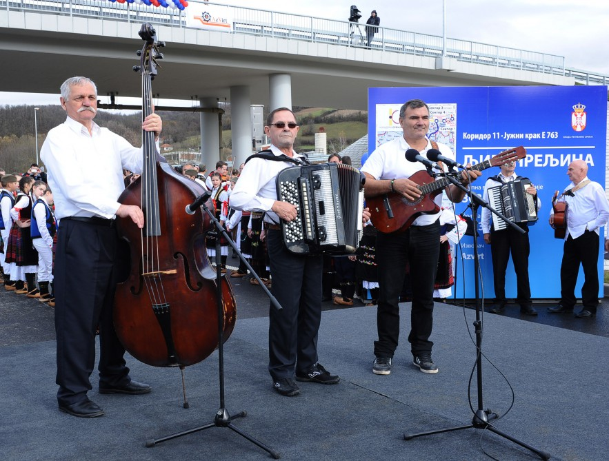 Opening of highway - symbol of Azerbaijani-Serbian friendship held in Serbia