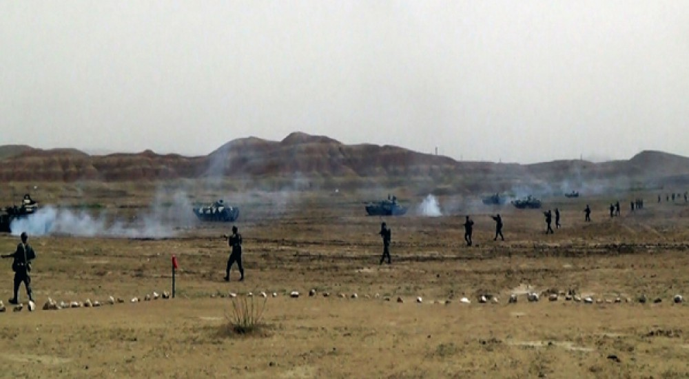 Live-fire phase of Azerbaijani Army's war games begins