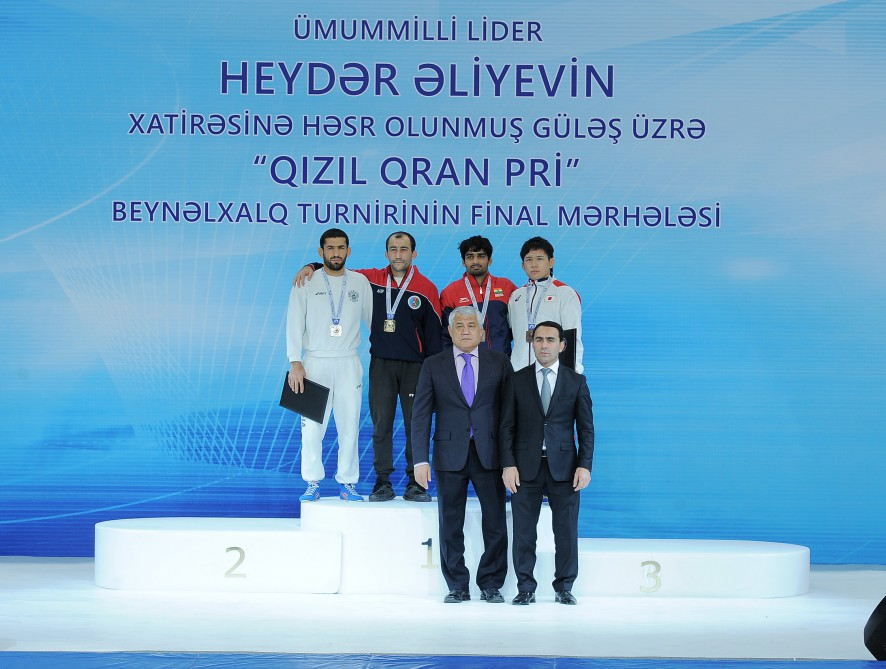 Azerbaijani wrestlers win seven medals on first day of Golden Grand Prix