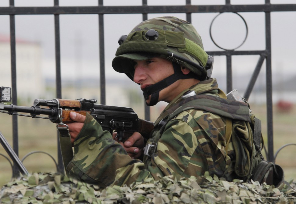 Armenian armed units violated ceasefire with Azerbaijan 56 times throughout the day