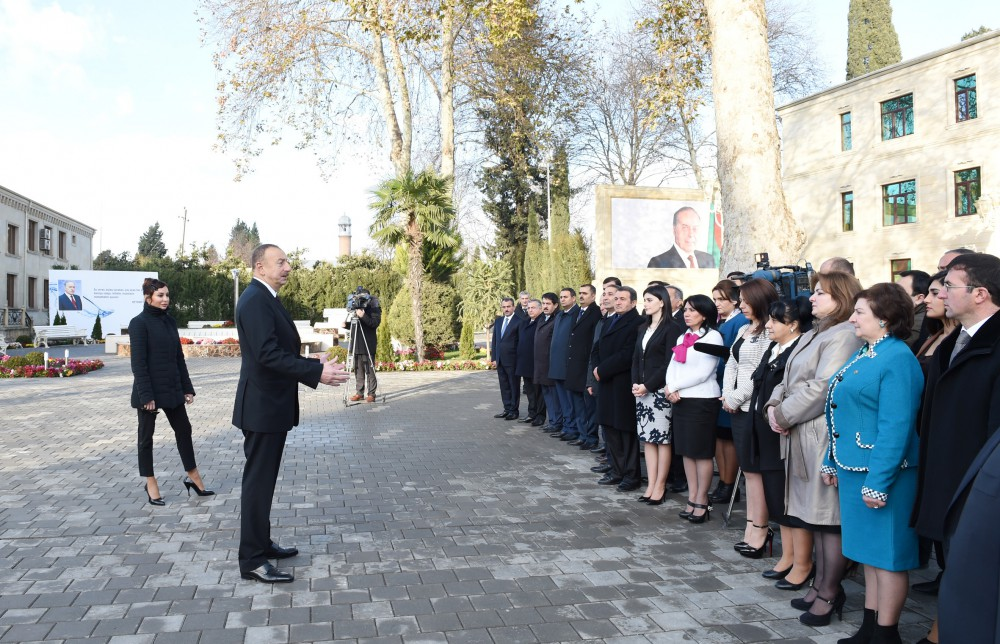 President Ilham Aliyev launched Tartar city water supply and sanitation system VIDEO