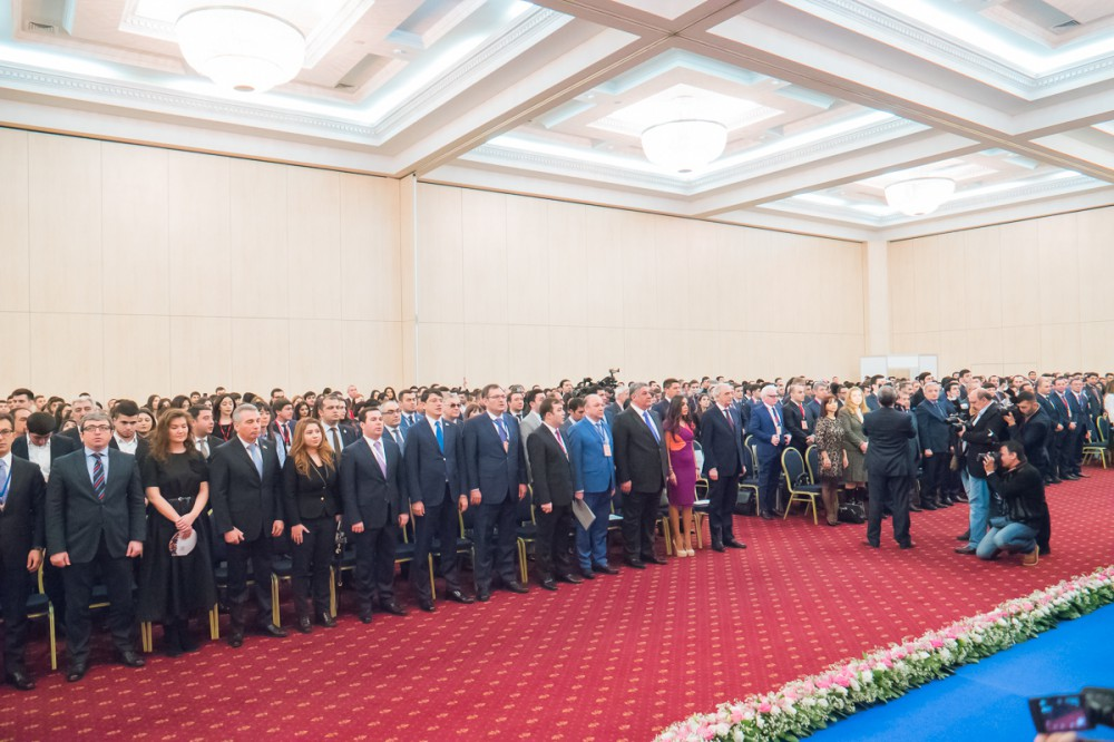 7th forum of Azerbaijani Youth Organization of Russia kicks off in Moscow