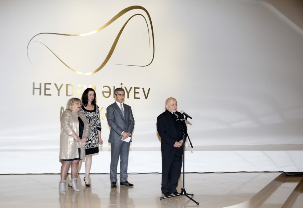Art Doll exhibition opens at Heydar Aliyev Center  Vice president of Heydar Aliyev Foundation Leyla Aliyeva views the exhibition