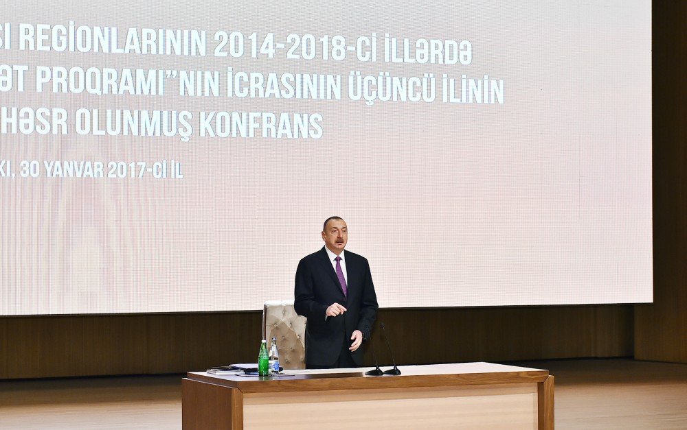 President Ilham Aliyev: Restoration of Jojuq Marjanli village is a historic event