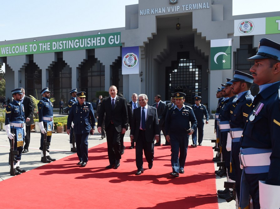 President Ilham Aliyev ended Pakistan visit VIDEO