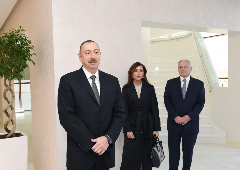 President Ilham Aliyev attended opening of Heart Center in Baku VIDEO