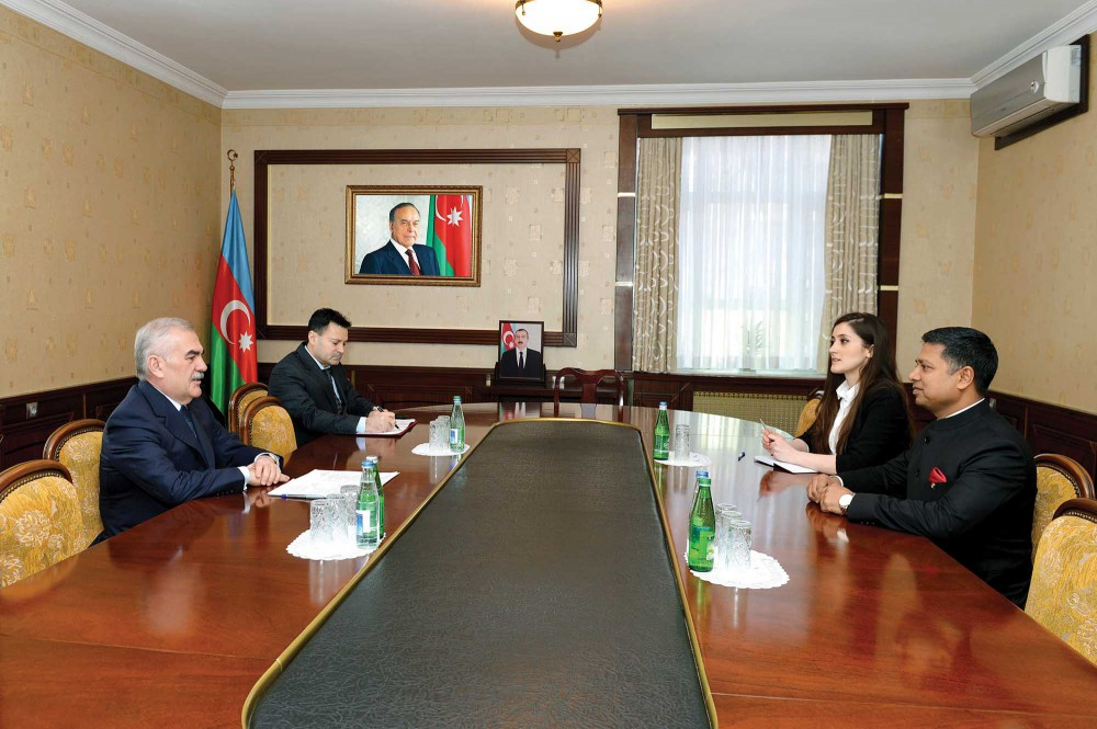 Chairman of Nakhchivan Supreme Assembly meets Indian Ambassador