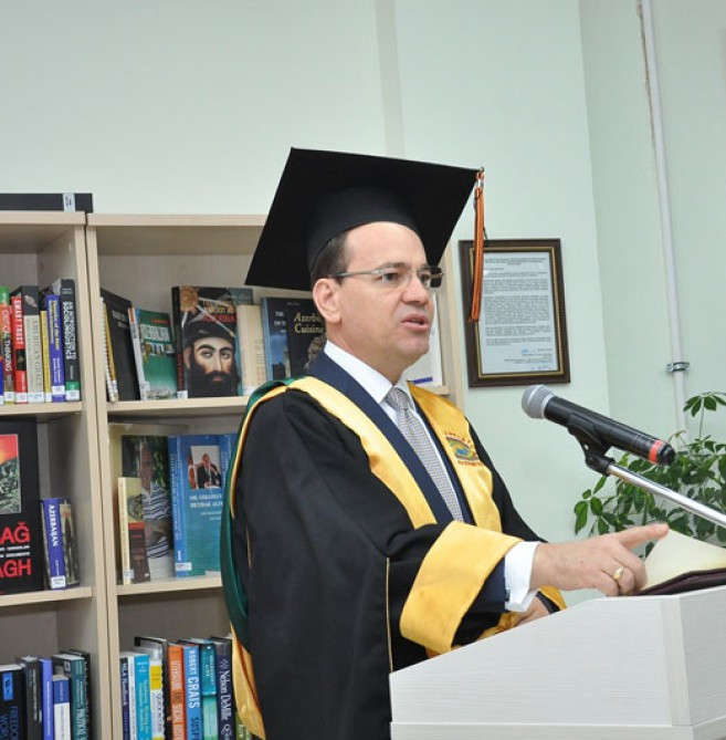 Albanian President receives honorary doctorate from Azerbaijan University of Languages