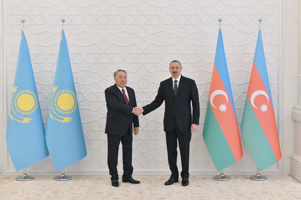 Official welcome ceremony was held for Kazakh President Nursultan Nazarbayev VIDEO