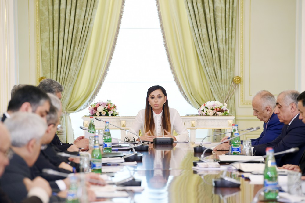 First Vice-President Mehriban Aliyeva chaired final meeting of 4th Islamic Solidarity Games Organizing Committee
