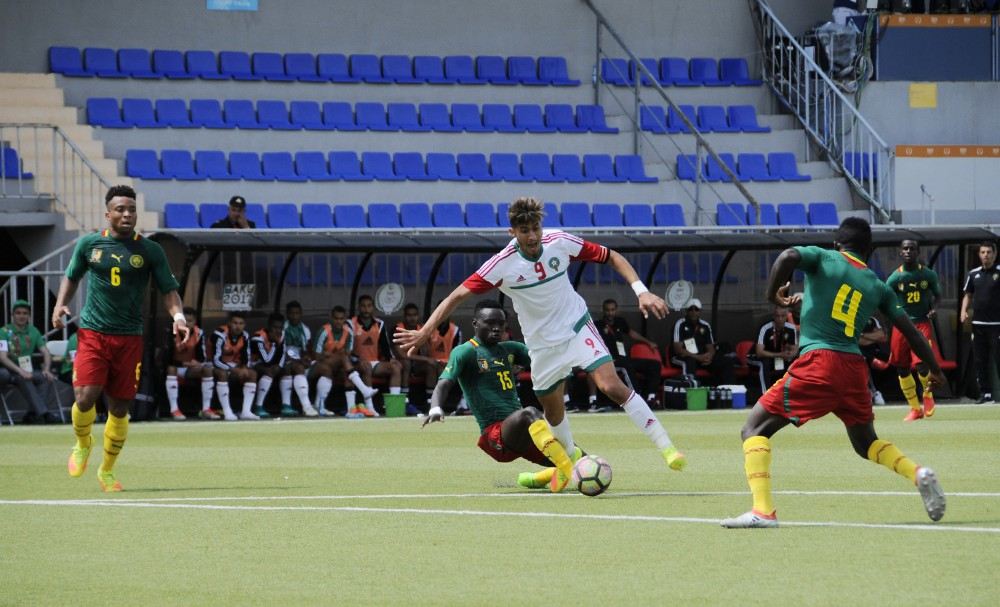 Cameroon draw against Morocco 1-1