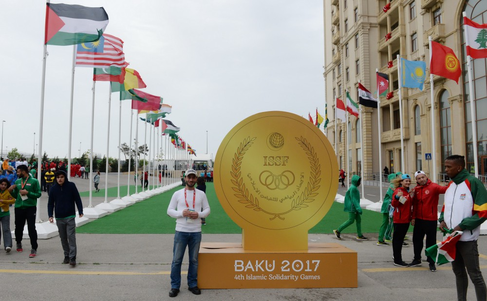 Azerbaijani flag raised in Athletes Village of 4th Islamic Solidarity Games