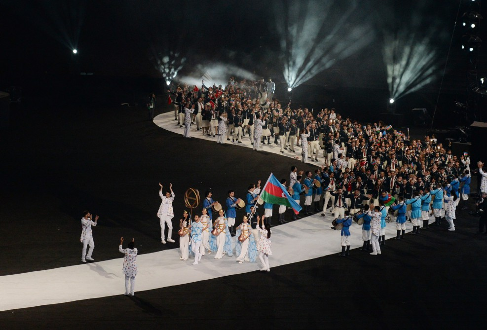 4th Islamic Solidarity Games kicked off with solemn Opening Ceremony at Baku Olympic Stadium President Ilham Aliyev declared the Games open