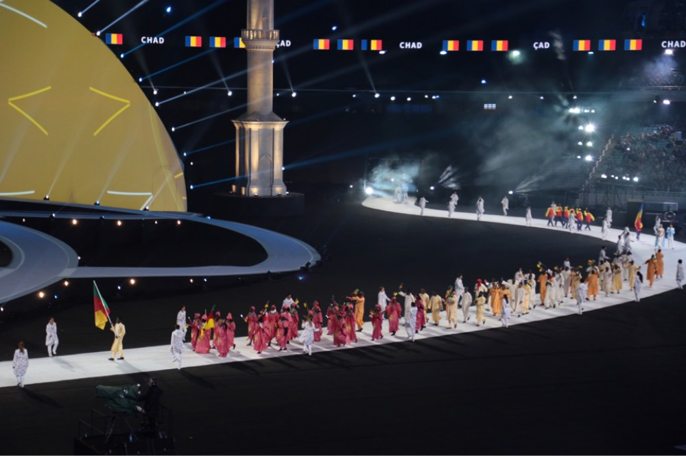 Opening Ceremony of 4th Islamic Solidarity Games at Baku Olympic Stadium AZERTAC`s live text commentary VIDEO
