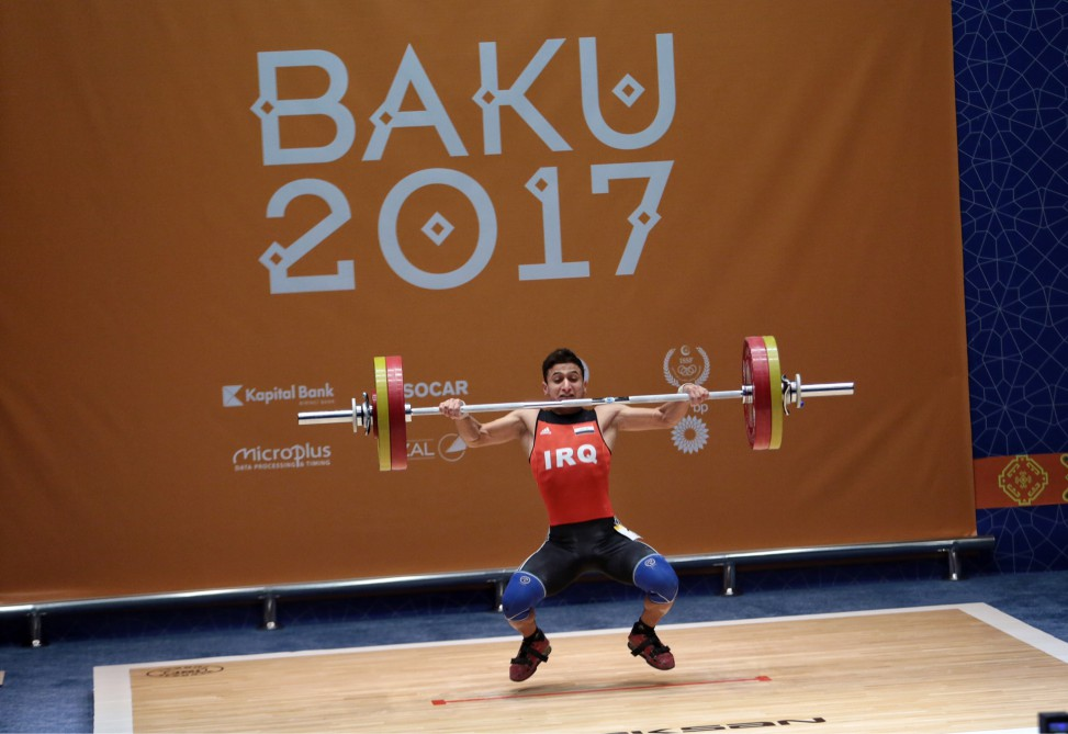 Weightlifting competitions kick off at Baku 2017