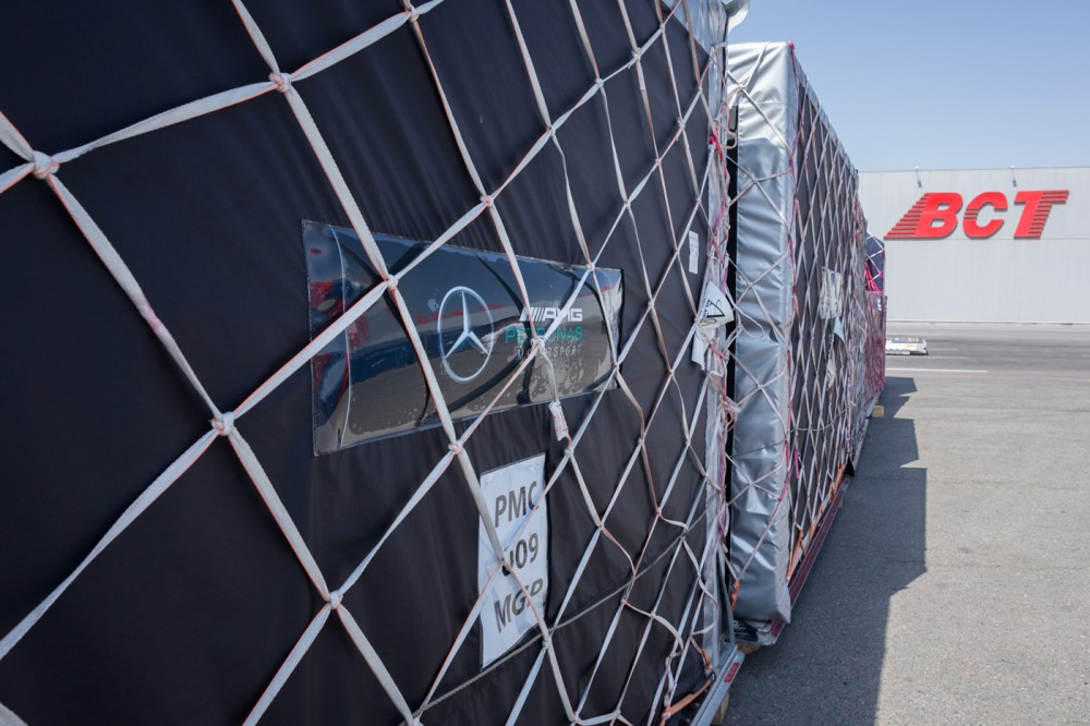 Cargoes for holding Formula 1 Azerbaijan Grand Prix delivered to Baku