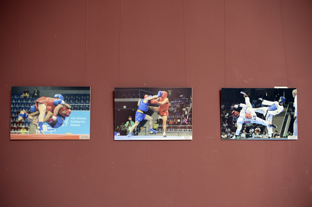 """Solidarity Games through the eyes of Azerbaijani photographers"" exhibition opened in Baku VIDEO"