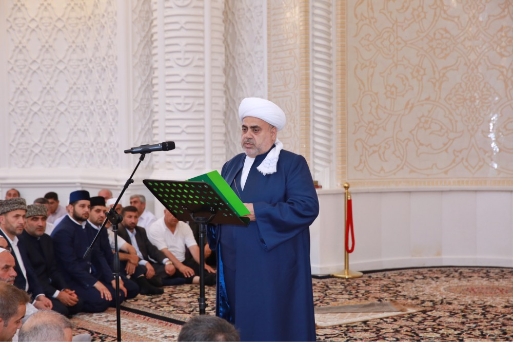 Unity prayer at Heydar Mosque: Azerbaijan pays tribute to Turkish July 15 martyrs