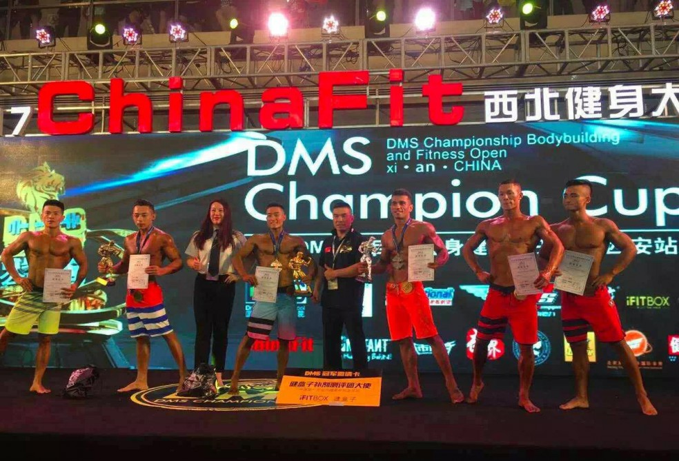 Azerbaijani student wins silver at bodybuilding and men's physique DMS-2017 in China