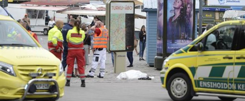 Two killed in stabbing in Turku, Finland