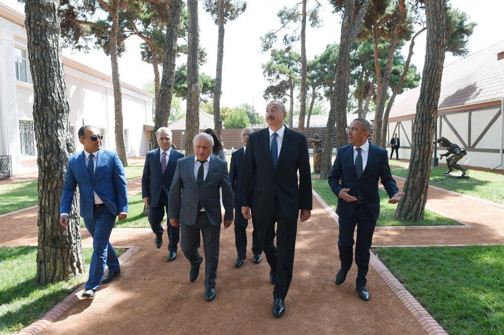 President Ilham Aliyev viewed Museum of History and Local Lore in Shamkir after major overhaul VIDEO