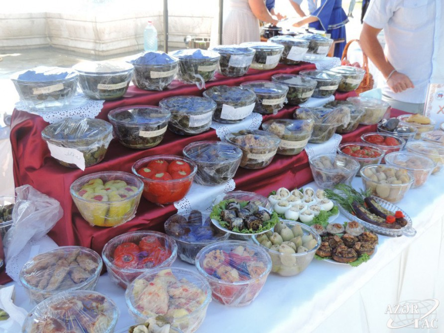 International dolma festival held in Khachmaz VIDEO