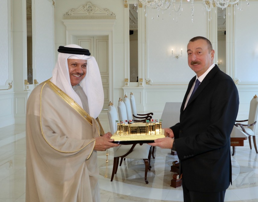 President Ilham Aliyev received delegation of Cooperation Council for Arab States of Gulf VIDEO