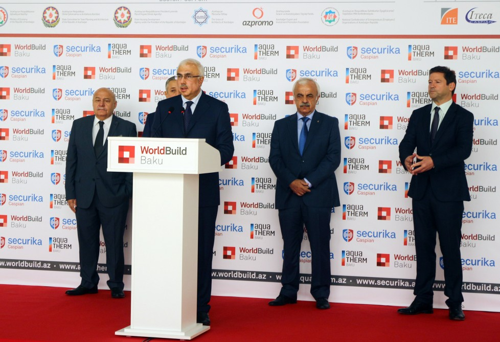23rd International Construction Exhibition opened in Baku